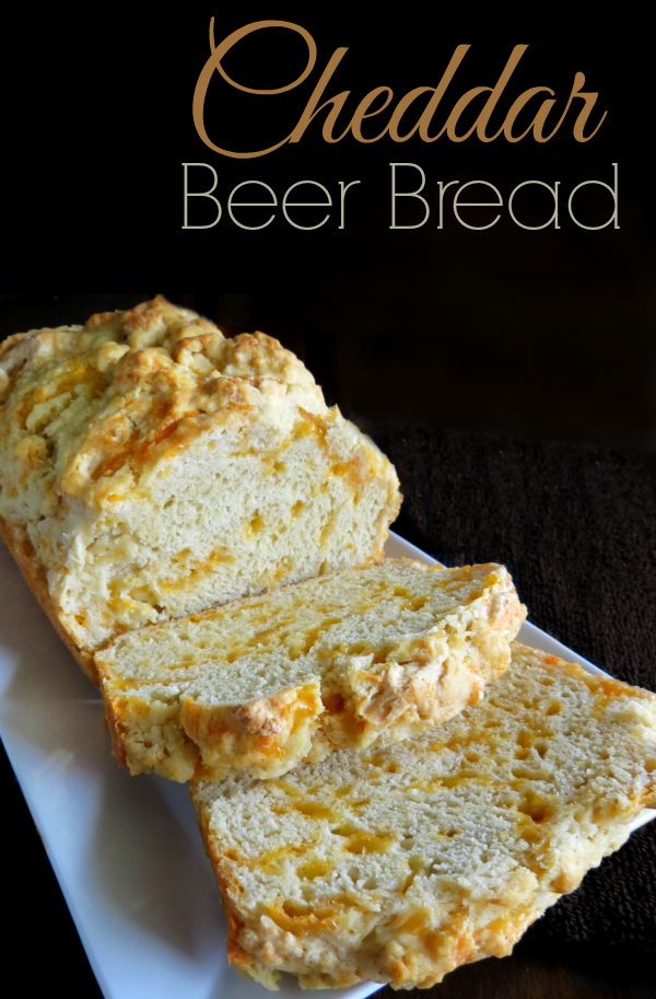 Easy Cheddar Beer Bread Recipe A Helicopter Mom