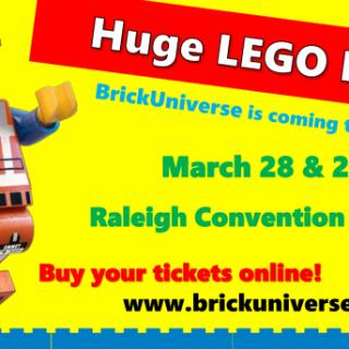 BrickUniverse LEGO Event