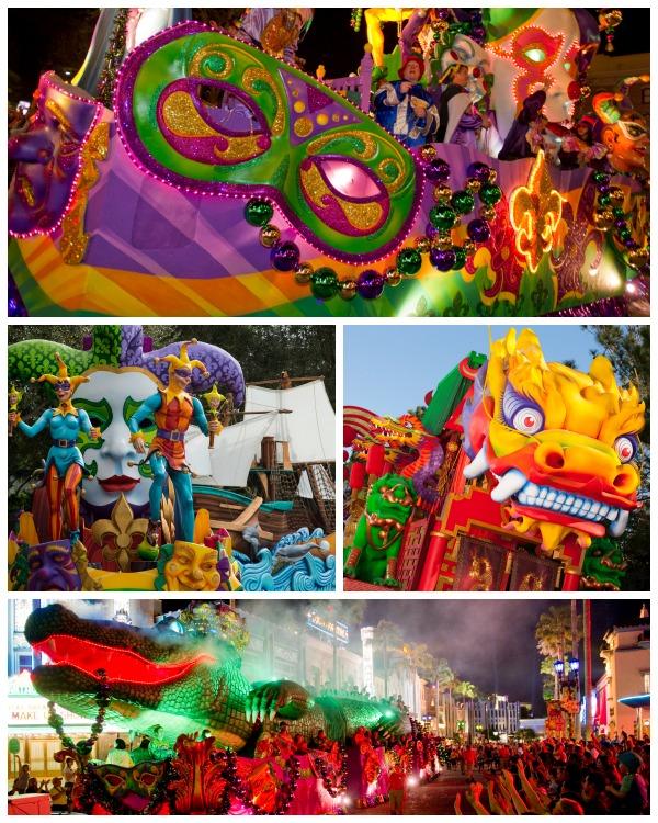 Mardi Gras Parade Universal Orlando