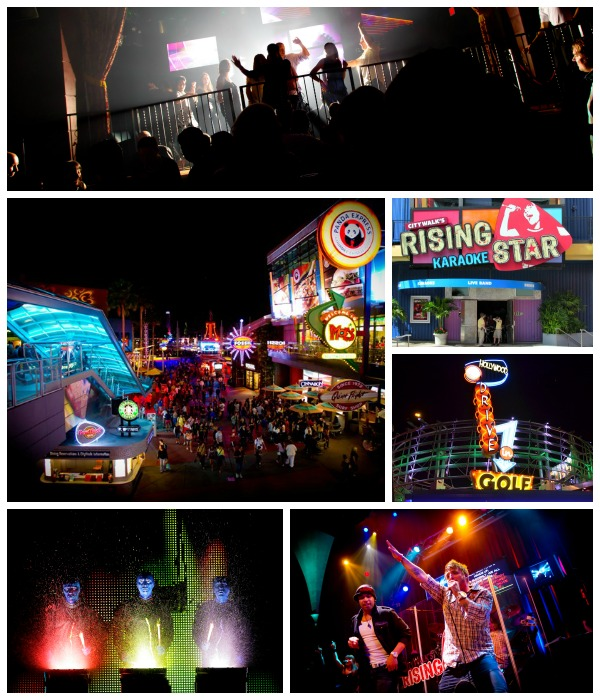 Nightlife at Universal CityWalk