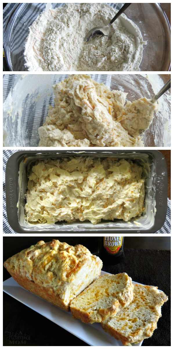 Easy Cheddar Beer Bread Recipe - This bread is always a huge hit with friends and family! So easy to make and it tastes amazing!