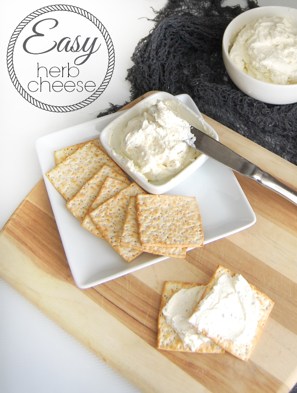 Easy Herb Cheese Recipe