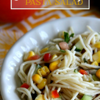 Angel Hair Garden Pasta Salad Recipe