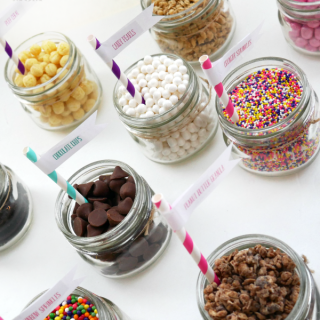 Fun Snack Pack DIY Sundaes