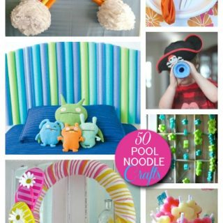 50 Cool Things to do with Pool Noodles – DIY Pool Noodle Games