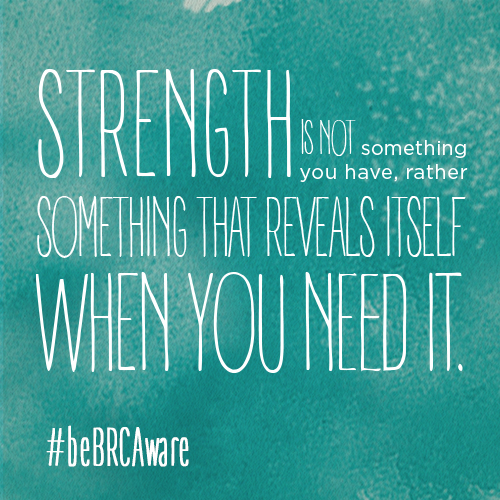 be strong  bebrcaware
