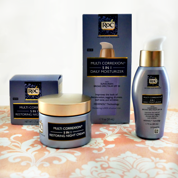 RoC Multi Corrextion 5-in-1 Skincare Products
