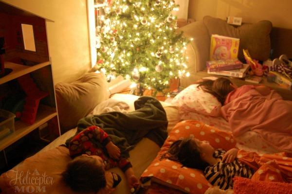 Sleeping Under the Christmas Tree