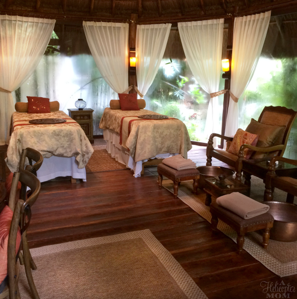 Gorgeous Holistic Spa Cabins at Dreams Tulum