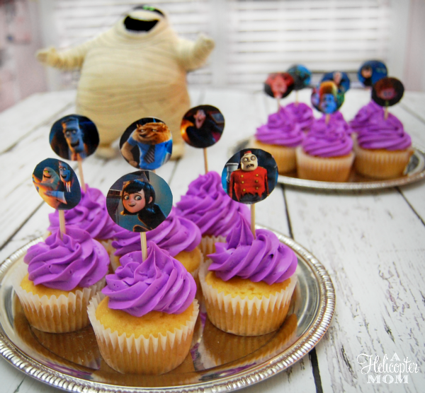 Hotel Transylvania 2 Party Cupcakes