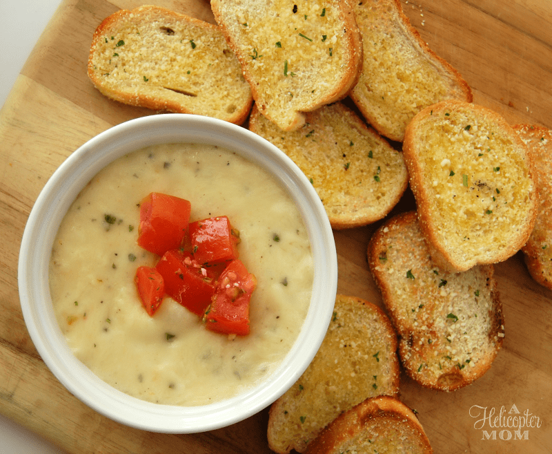 Roasted Garlic Cheese Dip