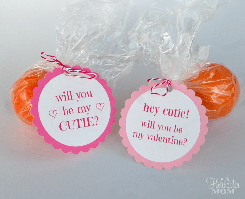 Free Valentine Printable - Be My Cutie