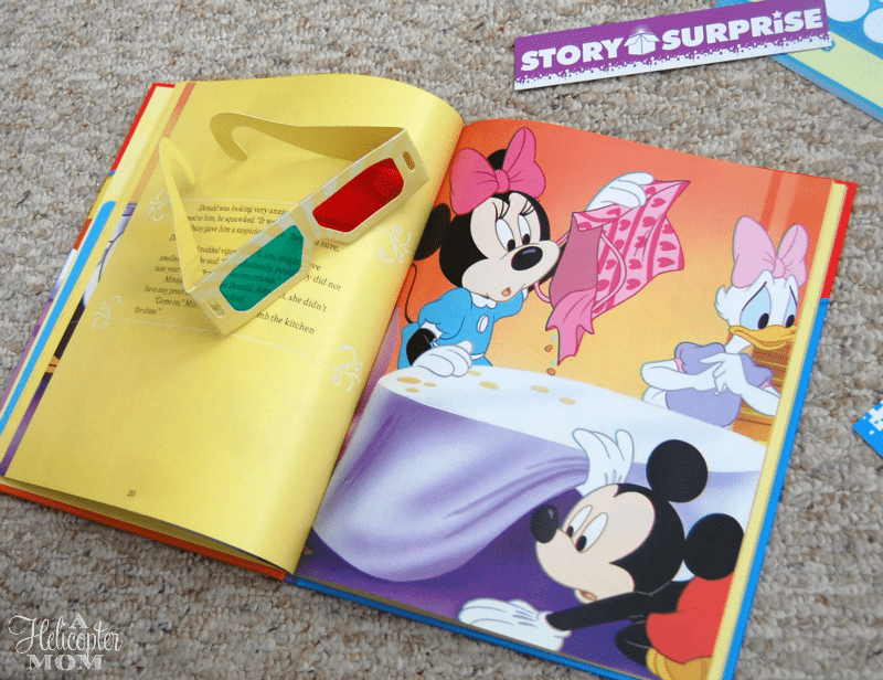 Story Surprise - Brand New 3D Book with 3D Glasses