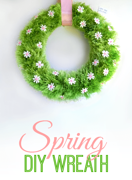 Spring Wreath DIY Spring Craft