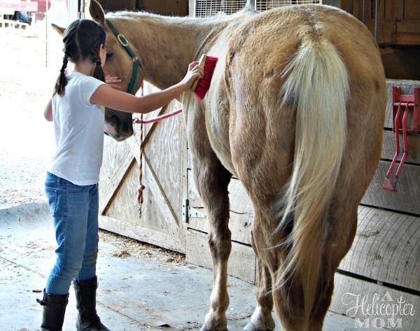 Dusty Horseback Riding