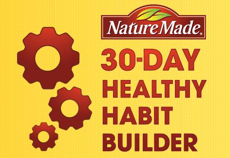 NatureMade 30-Day Healthy Habit Builder