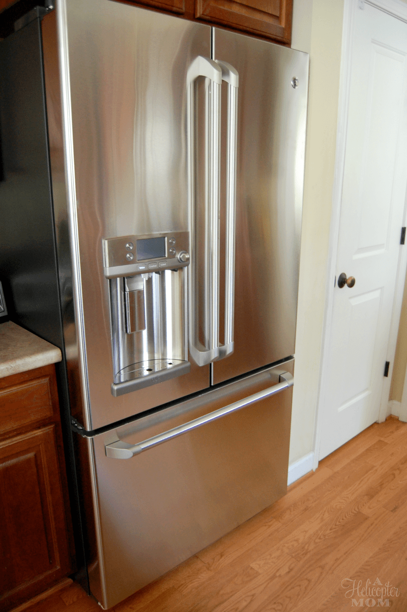 GE Cafe Refrigerator With Keurig Brewing System