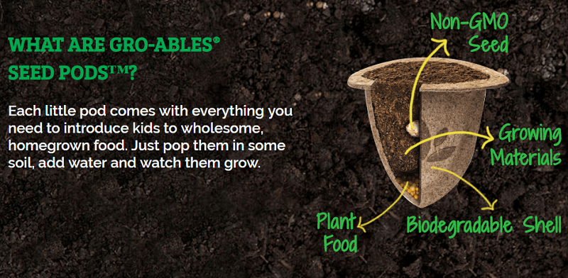Gro-ables Seed Pods