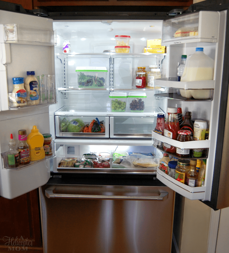 so much room ge cafe fridge with keurig brewer