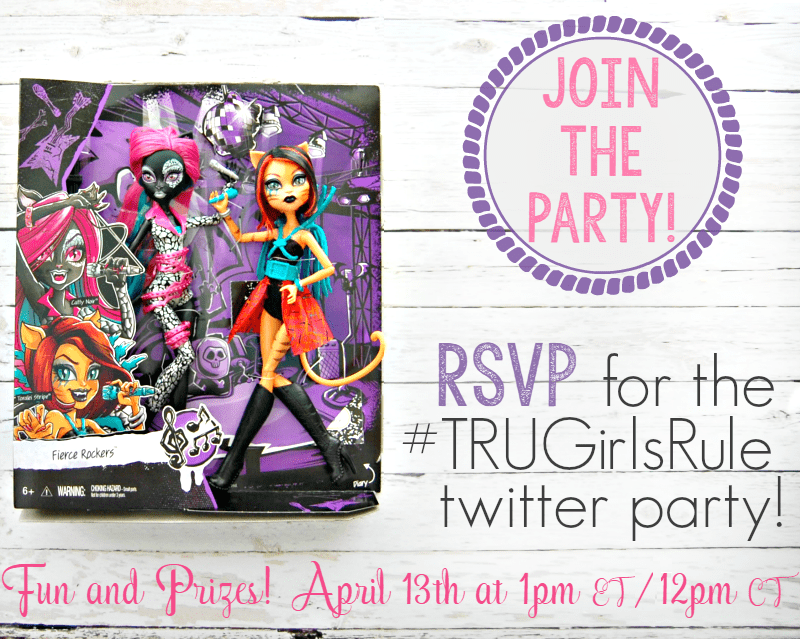 TRUGirlsRule Twitter Party - RSVP at ahelicoptermom.com