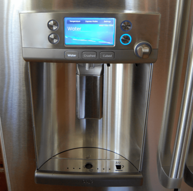 Its Here The Ge Café Refrigerator With Keurig Brewer A