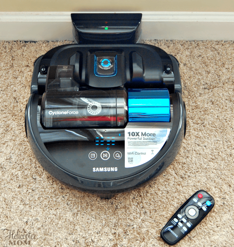 Our New Samsung POWERbot Robotic Vacuum
