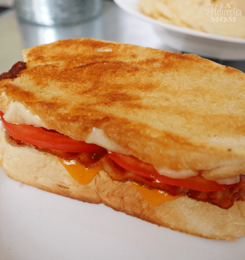 Grown Up Grilled Cheese Sandwich Recipe - A Helicopter Mom
