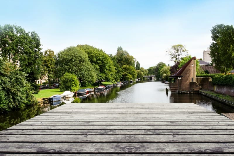 Wooden Dock - Water Safety