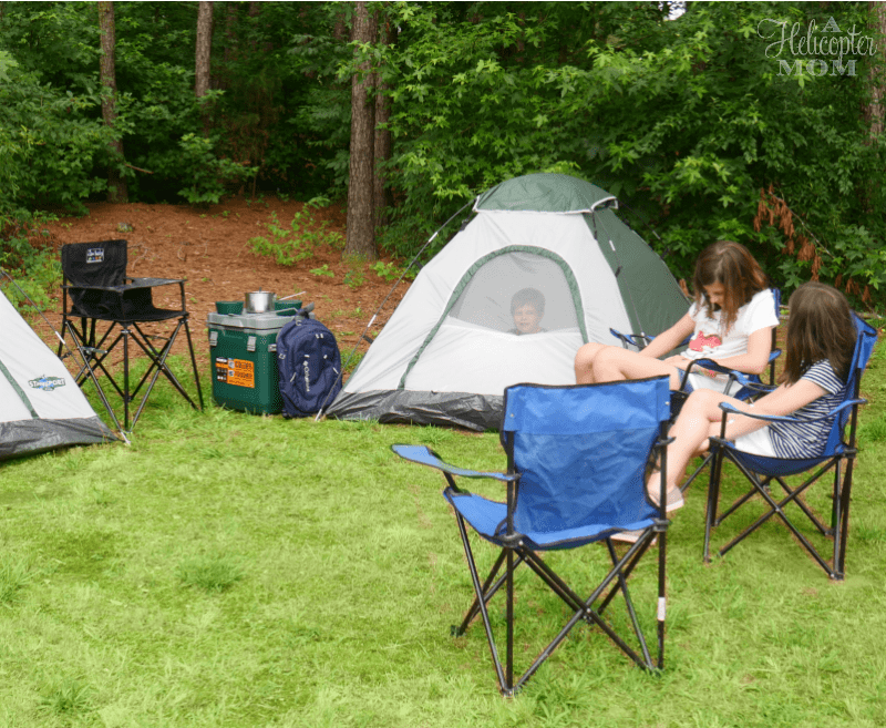 Camping with Family - Gift Card Giveaway