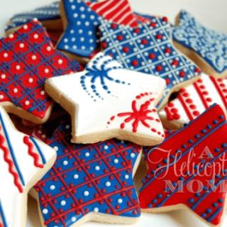 Go Team USA Cookies – Recipe