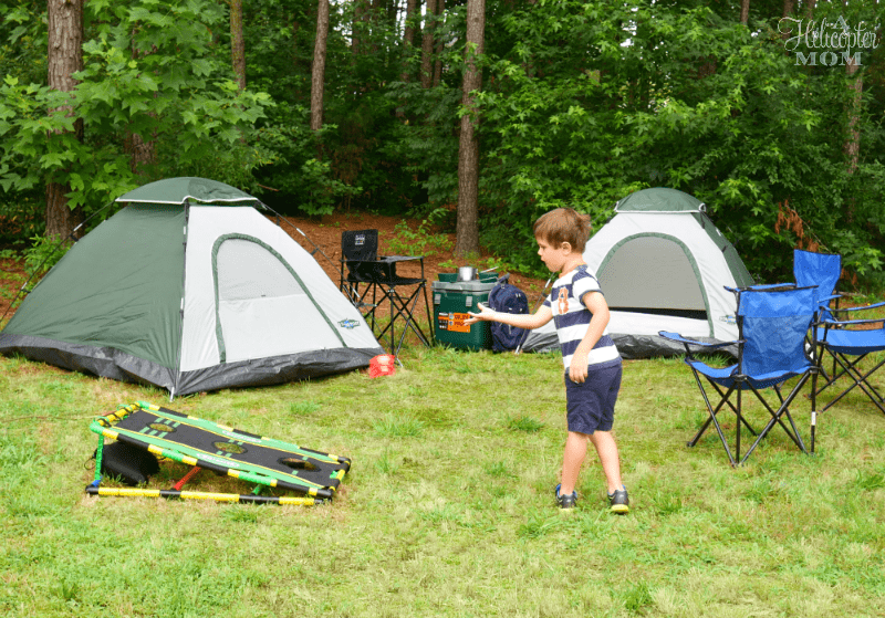 Having Fun at the Campground - gift card giveaway
