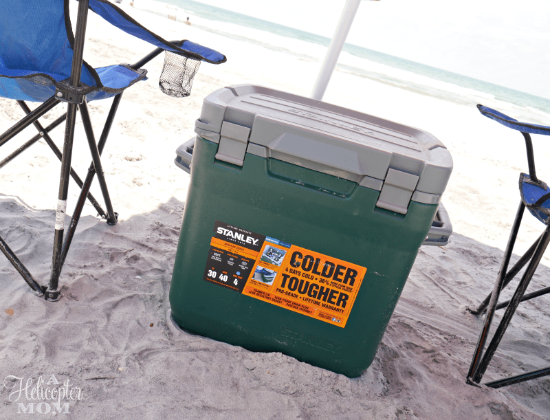 Taking the Cooler to the Beach - Gift Card Giveaway