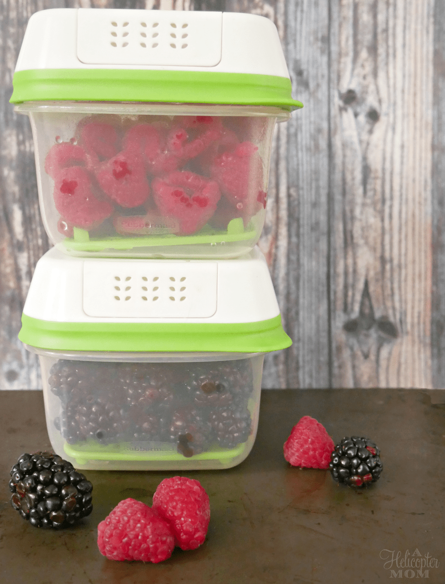 Rubbermaid FreshWorks Produce Keepers - Keep Berries Fresh