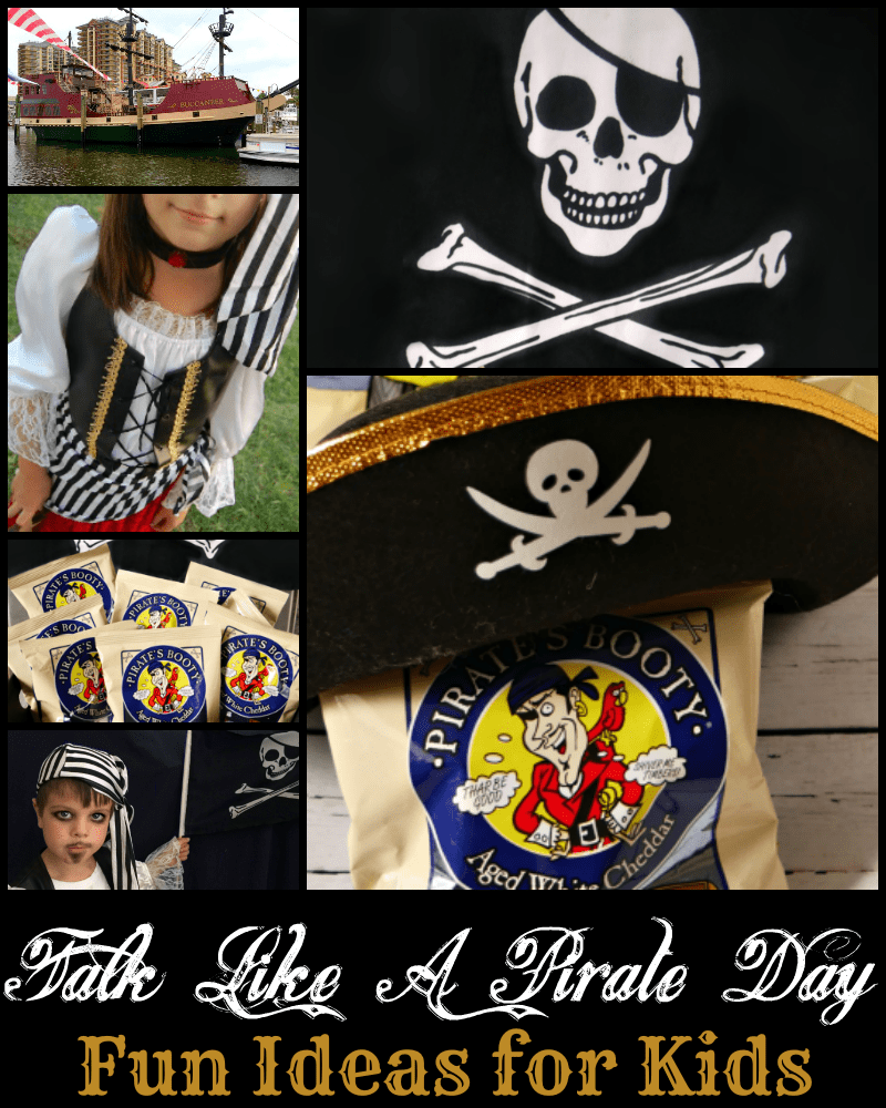 Pirate Party Ideas for Talk Like a Pirate Day