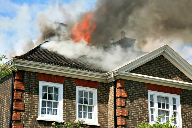 House Fire - Fire Prevention