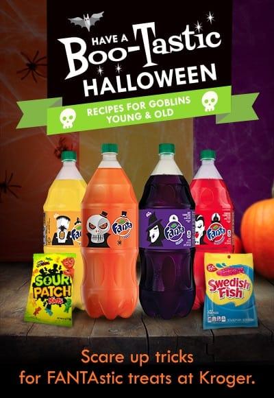 Boo-tastic Halloween Drink Ingredients