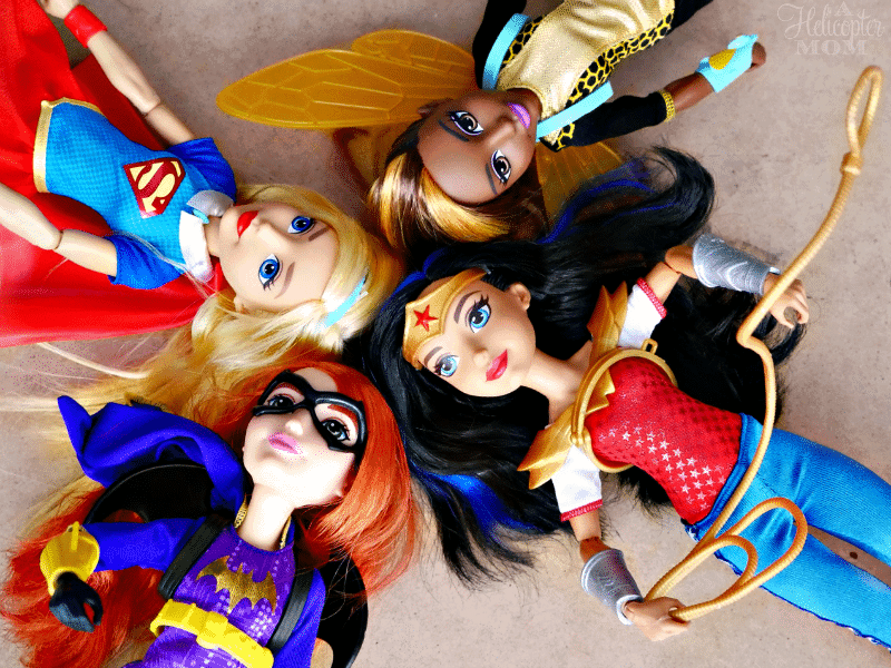 Gift Ideas for Girls - DC Super Hero Girls at Toys R Us