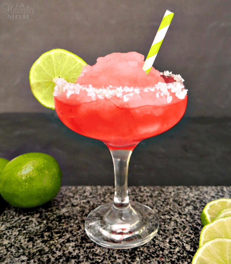 Easy Frozen Watermelon Margaritas