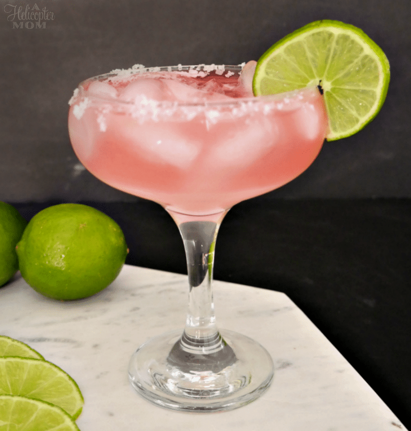 Easy Watermelon Margarita on the Rocks