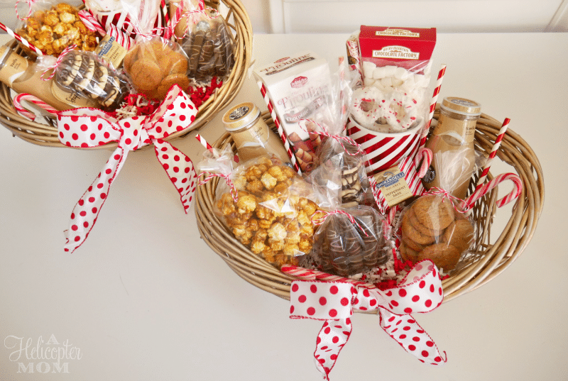 How To Make Easy DIY Gift Baskets Hostess Gifts