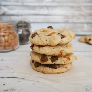 Chocolate and Butterscotch Chip Cookies Recipe