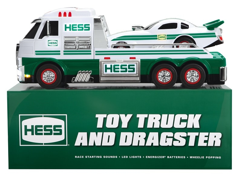 2016 Hess Toy Truck and Dragster Prize Pack Giveaway