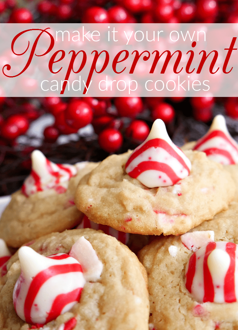 Easy Peppermint Christmas Cookies