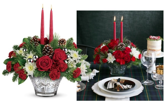 Teleflora's Sparkling Star Centerpiece Gift Code Giveaway
