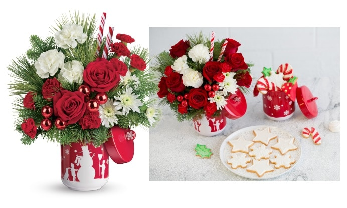 Teleflora's Snow Day Bouquet Gift Code Giveaway