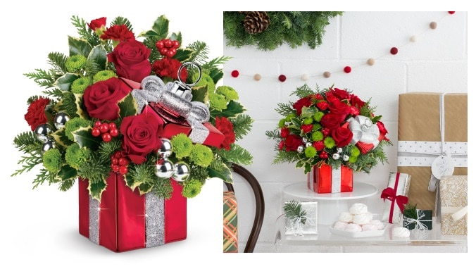 Teleflora's Gift Wrapped Bouquet Gift Code Giveaway
