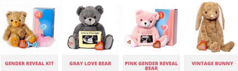 Gender Reveal Idea - Keepsake with Baby Heartbeat