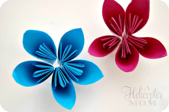 Paper Craft Ideas Flowers