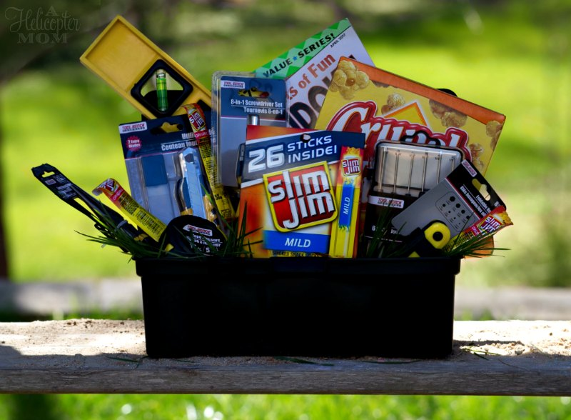 Easy Easter Baskets for Men