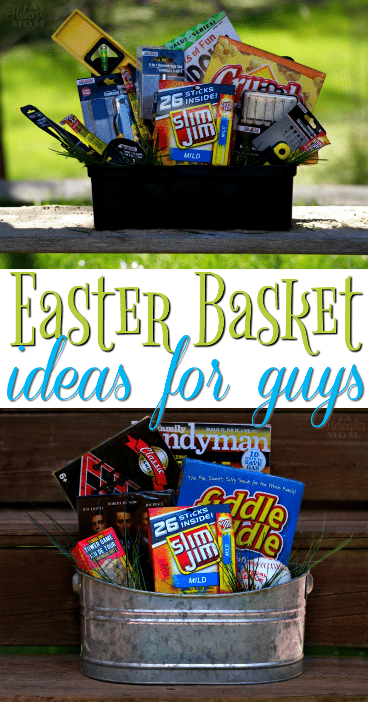 Easter basket ideas for guys a helicopter mom easter basket ideas for guys negle Choice Image